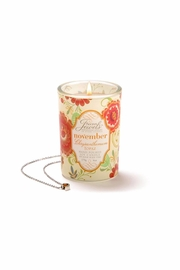 Giftcraft Inc.  Chrysanthemum Scented Candle - Front cropped
