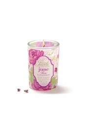 Giftcraft Inc.  Rose Scented Candle - Front cropped