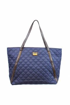 Shoptiques Product: Blue Quilted Tote