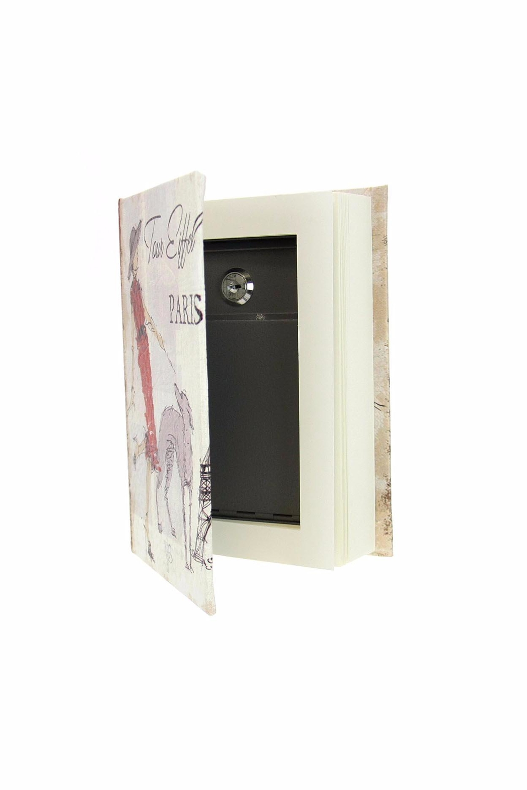 Giftcraft Inc.  Book Lock-Box - Main Image