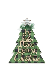 Giftcraft Inc.  Christmas Tree Plaque - Product Mini Image