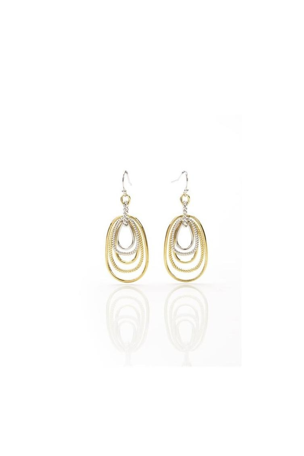 Giftcraft Inc.  Dual Hoop Earrings - Front Cropped Image