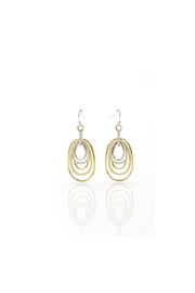 Giftcraft Inc.  Dual Hoop Earrings - Front cropped