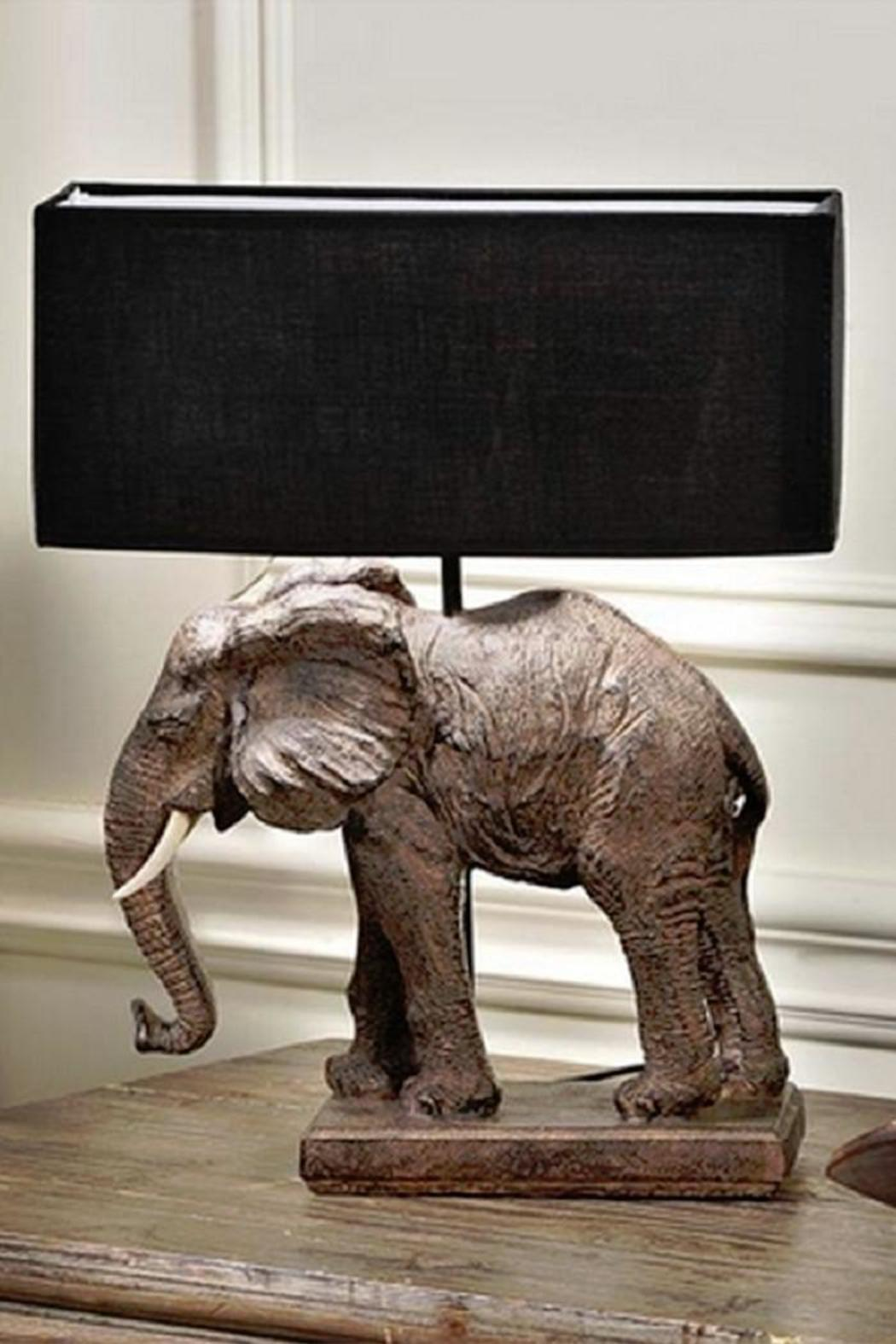 Giftcraft Inc. Elephant Table Lamp   Front Cropped Image