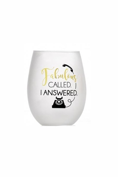 Giftcraft Inc.  Fabulous Stemless - Alternate List Image