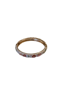 Shoptiques Product: Floral Bangle Bracelet