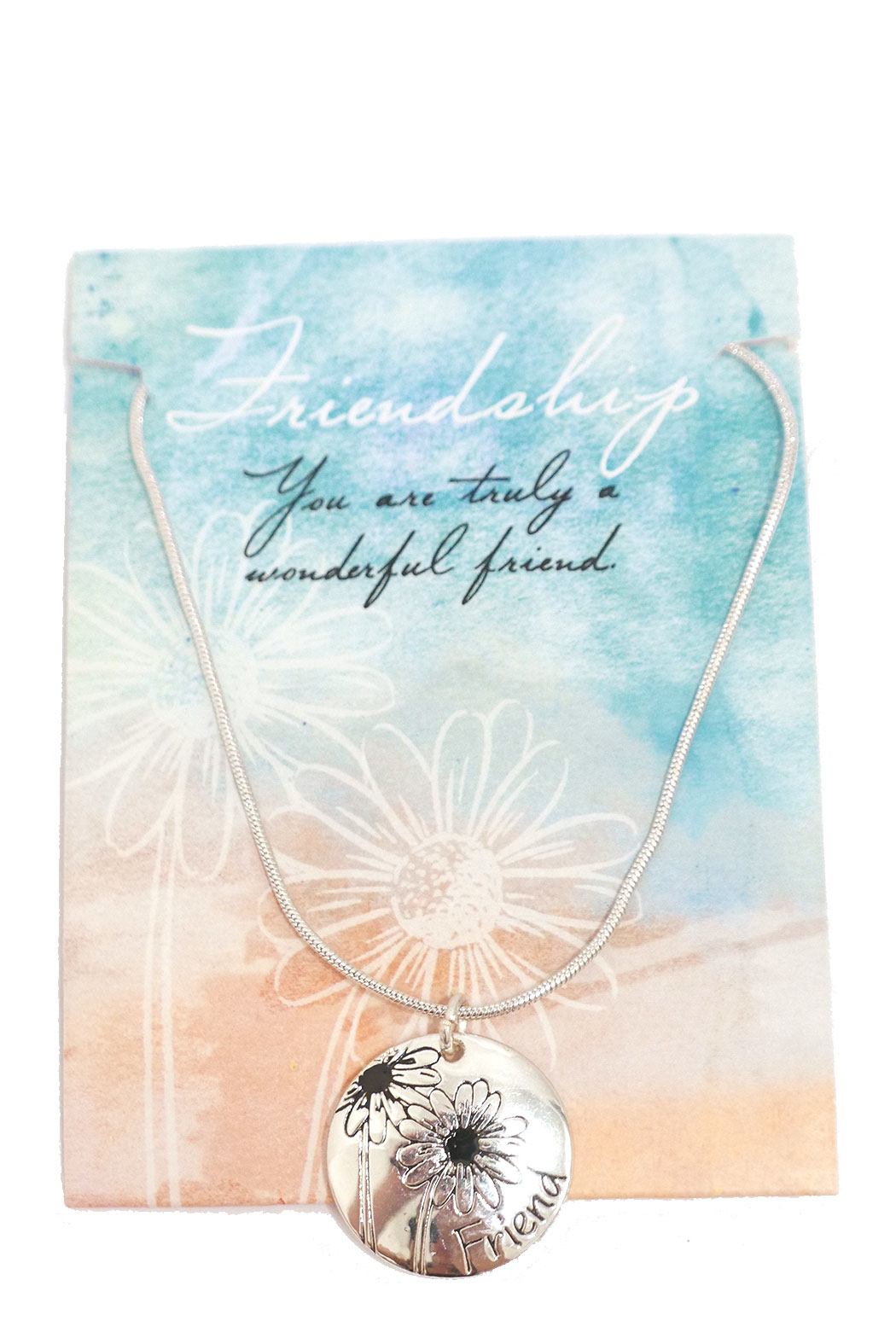 Giftcraft Inc.  Friendship Necklace - Back Cropped Image