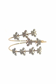 Giftcraft Inc.  Gold Butterfly Bracelet - Front cropped