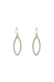 Giftcraft Inc.  Gold Dangle Earrings - Product Mini Image