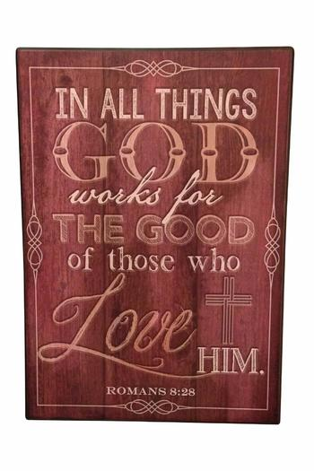 Giftcraft inc inspirational wall decor from woodstock by for Gift craft home decor