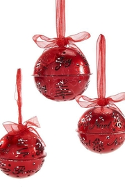 Giftcraft Inc.  Jingle Bell Ornament - Front full body
