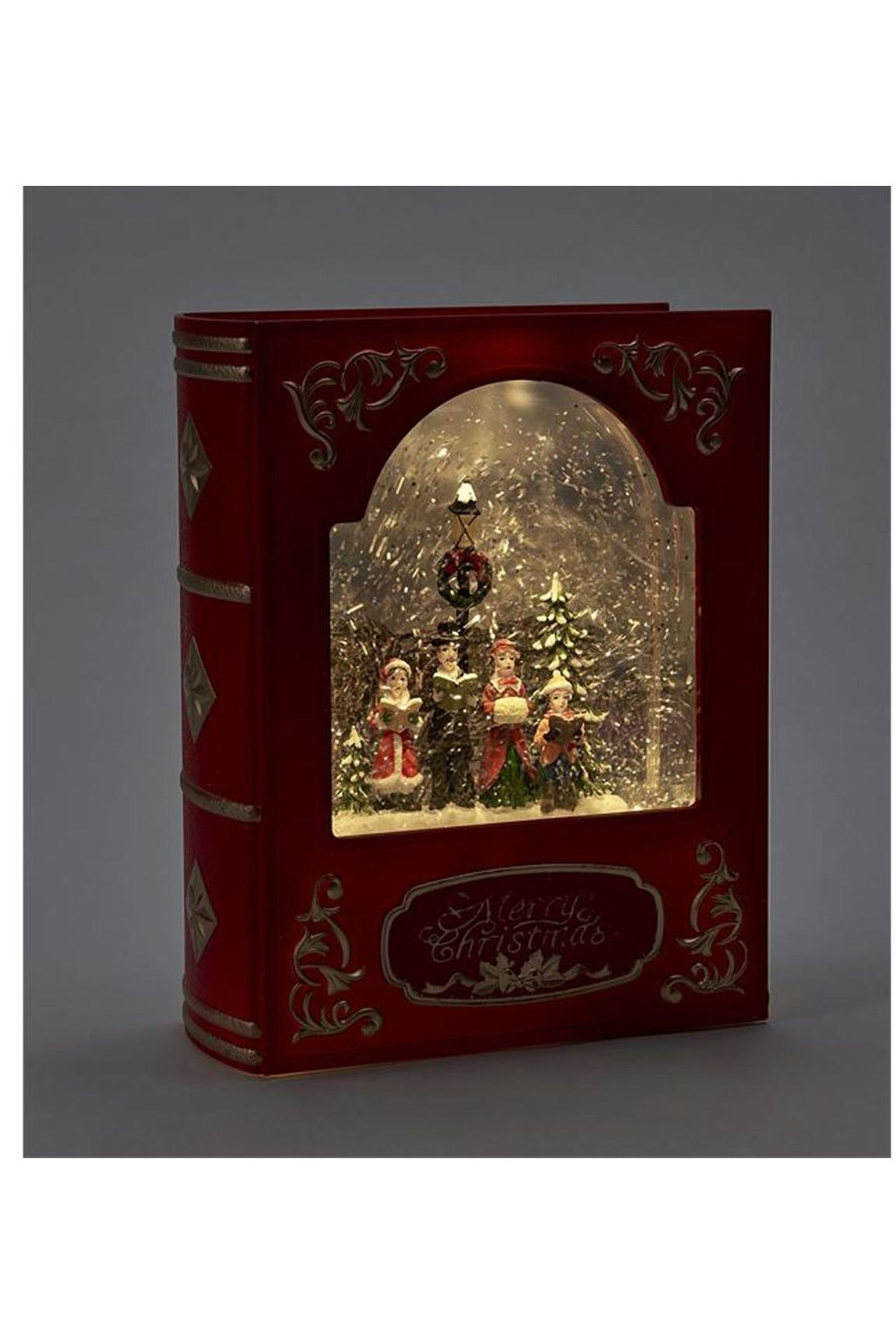 Giftcraft Inc.  Led Frame W/carolers - Front Full Image