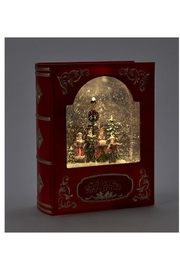Giftcraft Inc.  Led Frame W/carolers - Front full body