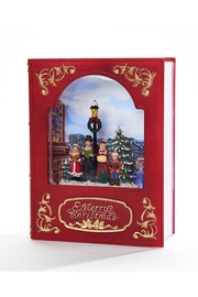 Giftcraft Inc.  Led Frame W/carolers - Front cropped