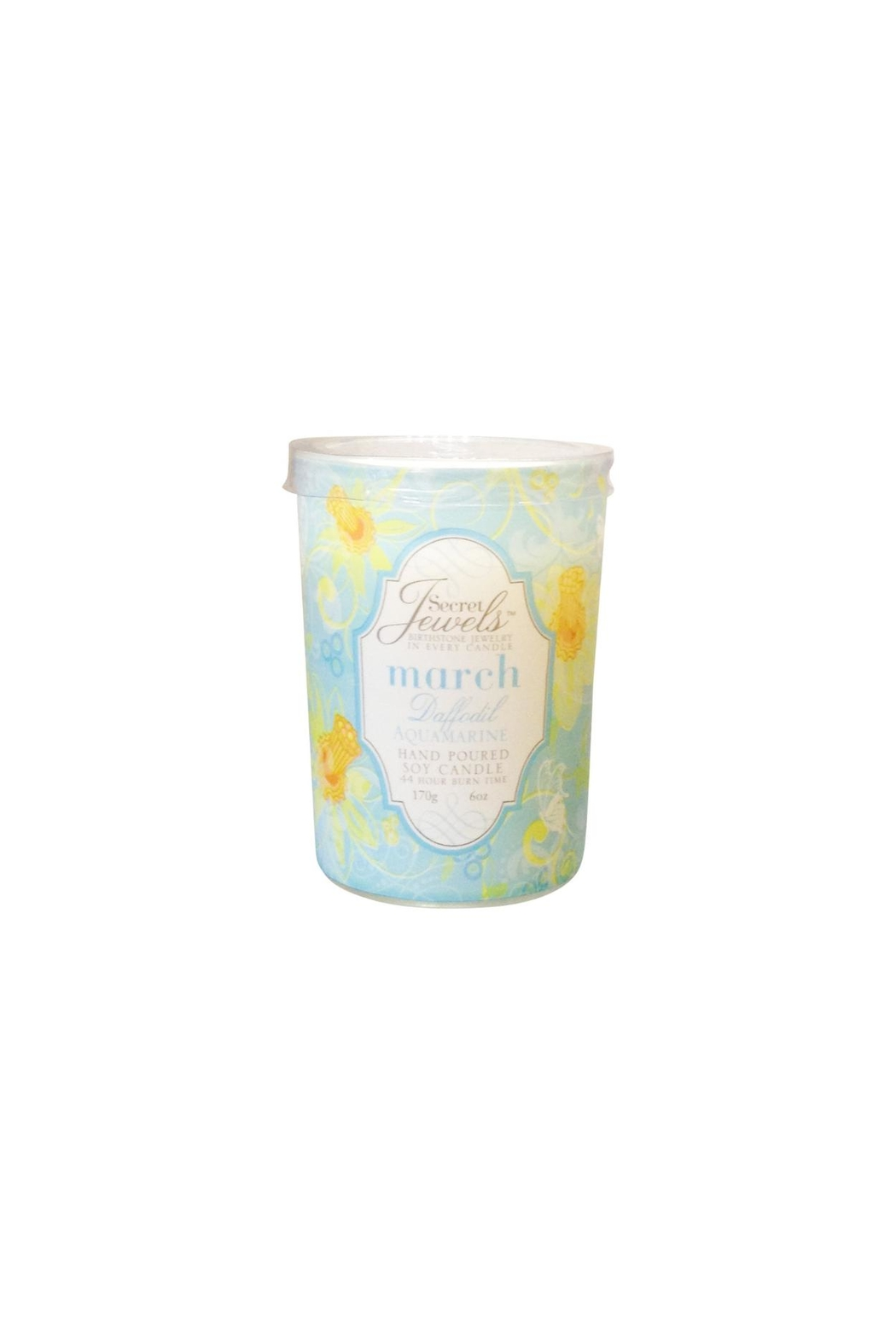 Giftcraft Inc.  March Jewelry Candle - Main Image