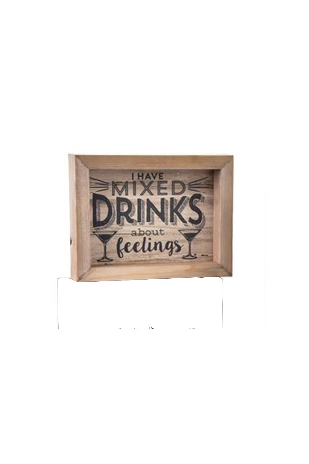 Giftcraft Inc.  Mixed Drinks Plaque - Main Image