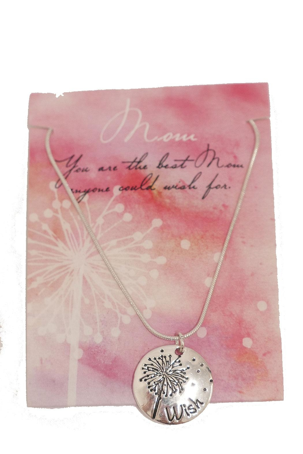 Giftcraft Inc.  Mom Necklace - Front Full Image