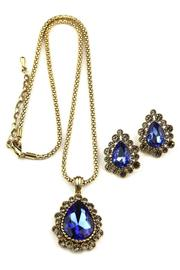 Giftcraft Inc.  Blue Necklace & Earring Set - Product Mini Image