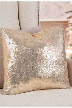 Giftcraft Inc.  Polyester Sequin Pillow - Alternate List Image