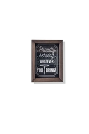 Giftcraft Inc.  Proudly Serving Plaque - Product Mini Image