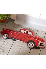 Giftcraft Inc.  Red Truck Mat - Front cropped