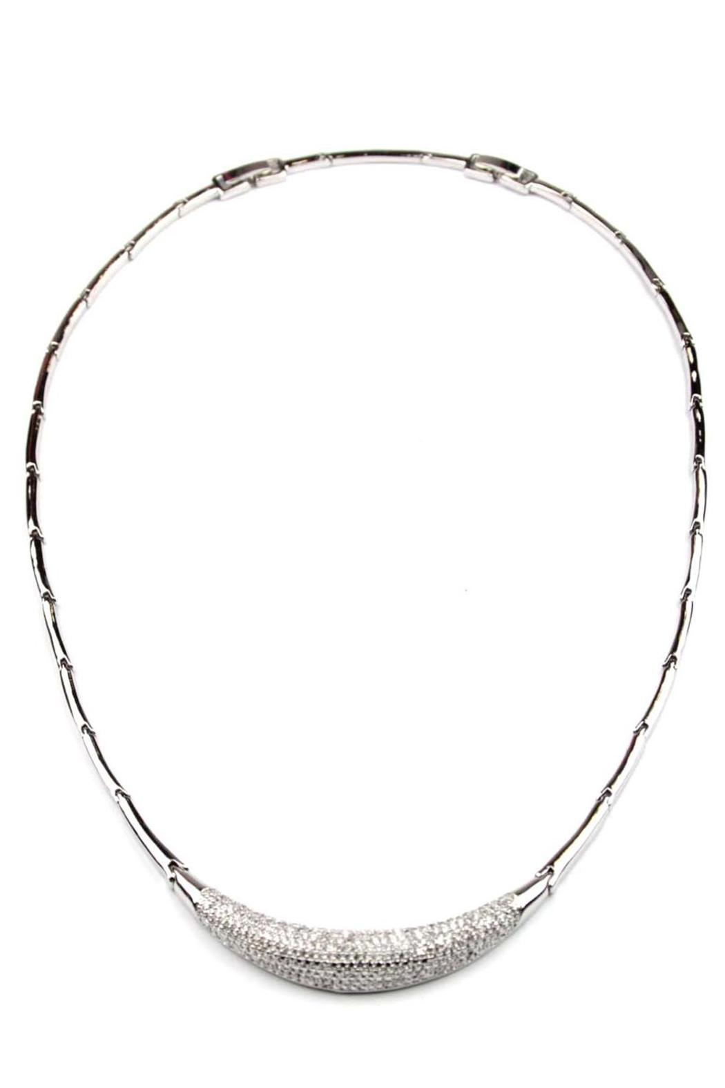 Giftcraft Inc.  Rhodium Collar Necklace - Main Image