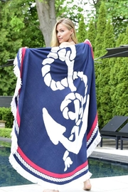 Giftcraft Inc.  Round Anchor Towel - Product Mini Image