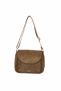 Giftcraft Inc.  Saddle Purse Brown - Alternate List Image