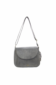 Giftcraft Inc.  Saddle Purse Gray - Alternate List Image