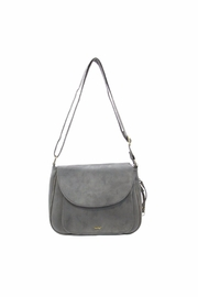 Giftcraft Inc.  Saddle Purse Gray - Product Mini Image