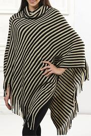 Giftcraft Inc.  Striped Poncho - Product Mini Image