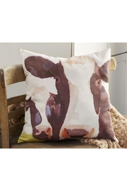 Giftcraft Inc.  Suede Cow Pillow - Product Mini Image
