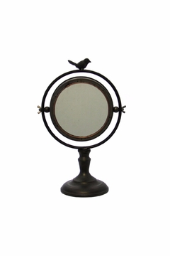 Giftcraft Inc.  Table Mirror With Bird - Alternate List Image