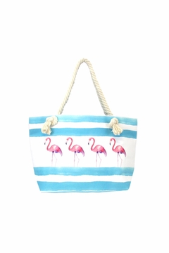 Giftcraft Inc.  Flamingo Tote Bag - Alternate List Image