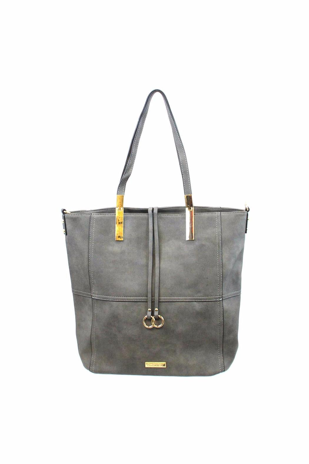 Giftcraft Inc.  Tote Bag Grey - Front Cropped Image