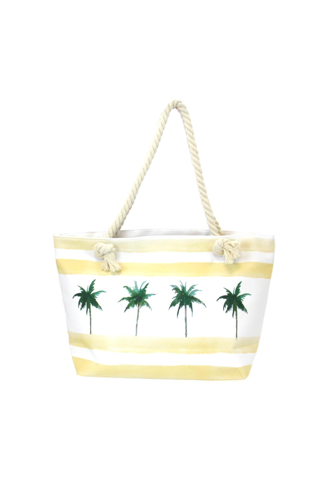 Giftcraft Inc.  Palm-Trees Tote Bag - Main Image