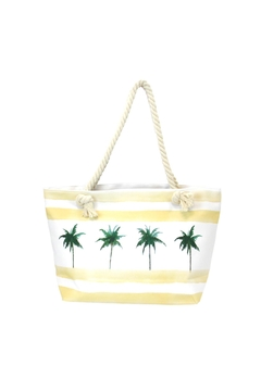Giftcraft Inc.  Palm-Trees Tote Bag - Alternate List Image