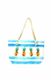 Giftcraft Inc.  Tote Bag Pineapples - Front cropped