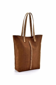 Giftcraft Inc.  Whip Stitch Tote Bag - Alternate List Image