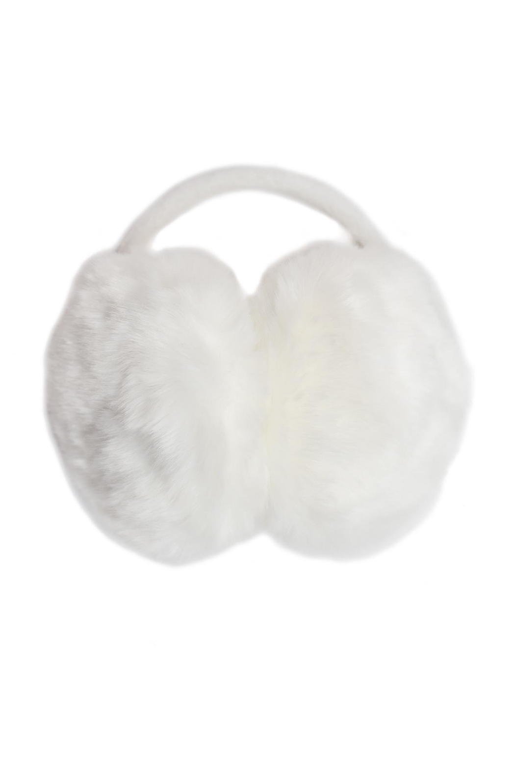 Giftcraft Inc.  White Furry Earmuffs - Main Image