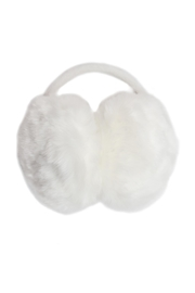Giftcraft Inc.  White Furry Earmuffs - Product Mini Image