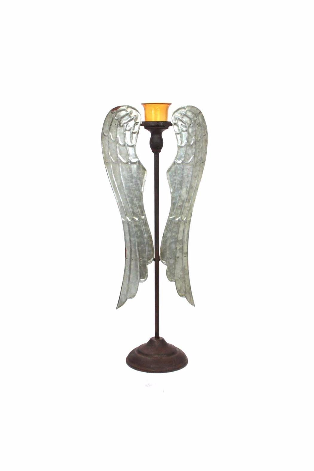 Giftcraft Inc.  Wings Tealight Holder - Main Image