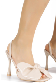 Cape Robbin Gifted Slingback Heel - Front cropped