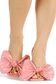 Cape Robbin Gifted Slingback Heel - Front full body