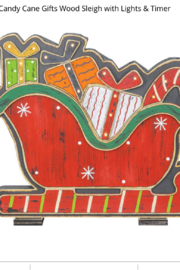 Hanna's Handiworks Gifts and Candy Cane Sleigh - Product Mini Image