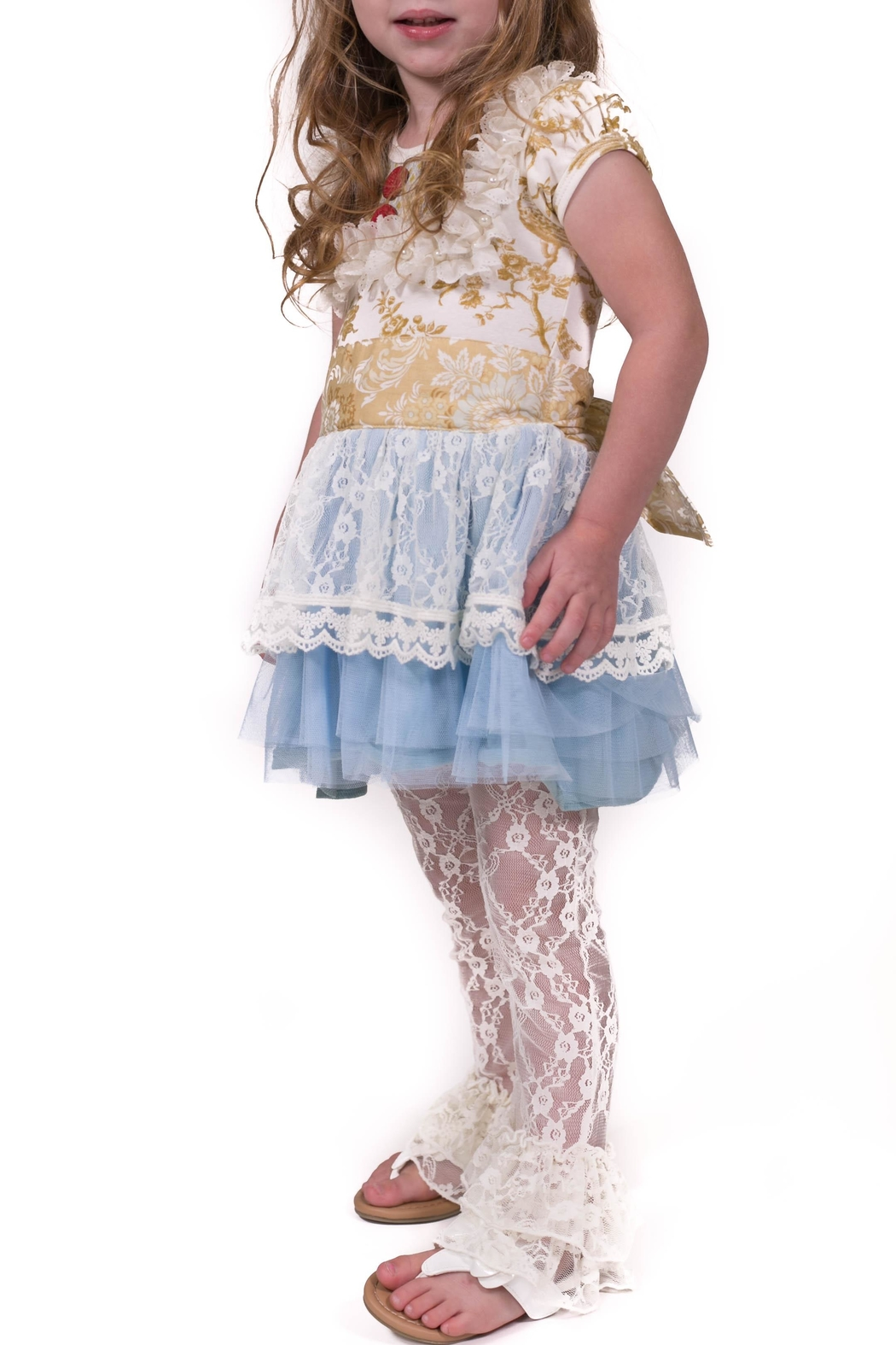 Giggle Moon Lace Dress Set - Main Image