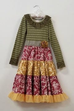Giggle Moon Precious Ruby Party Dress - Product List Image