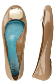 The Birds Nest GIGI BALLET FLATS- CHAI SZ 6 - Product Mini Image