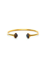 Julie Vos GIGI OPEN BANGLE-GOLD/LABRADORITE - Product Mini Image
