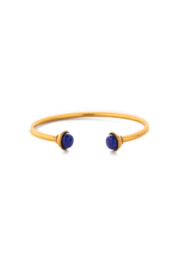 Julie Vos GIGI OPEN BANGLE-LAPIS LAZULI - Product Mini Image